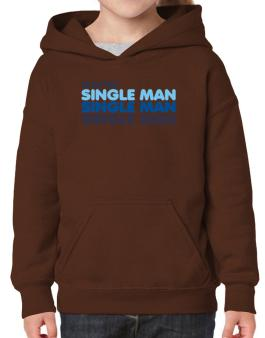 Alaster Single Man Hoodie-Girls