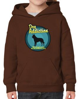 Dog Addiction : Belgian Malinois Hoodie-Girls