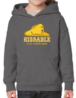 Kissable Is My Middle Name Hoodie-Girls