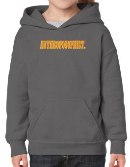 Anthroposophist. Hoodie-Girls