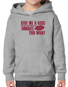 Give Me A Kiss And I Will Teach You All The Ammonite You Want Hoodie-Girls