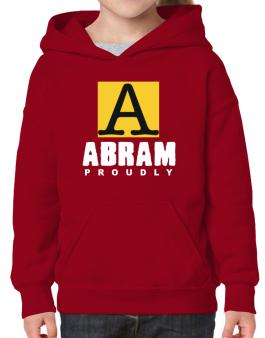 Proud To Be Abram Hoodie-Girls