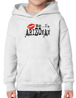 Kiss Me, Im Arizonan - Lips Hoodie-Girls