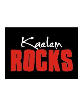Kaelem Rocks Sticker