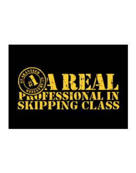 A Real Professional In Skipping Class Sticker