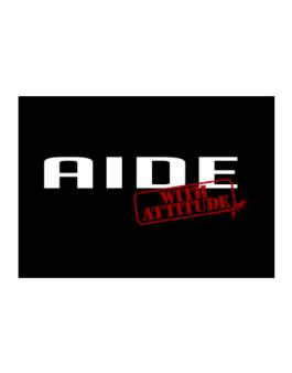 Aide With Attitude Sticker