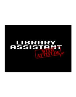 Library Assistant With Attitude Sticker