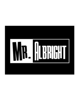 Mr. Albright Sticker