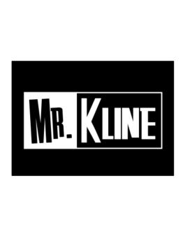 Mr. Kline Sticker