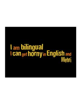 I Am Bilingual, I Can Get Horny In English And Mehri Sticker