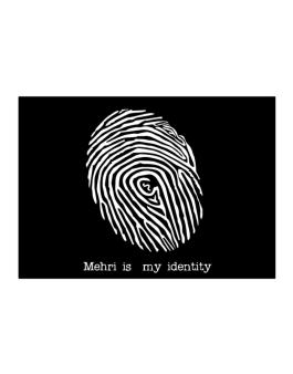 Mehri Is My Identity Sticker