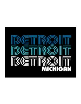 Detroit State Sticker