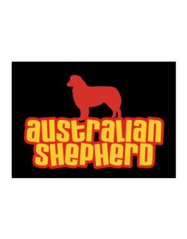 Breed Color Australian Shepherd Sticker