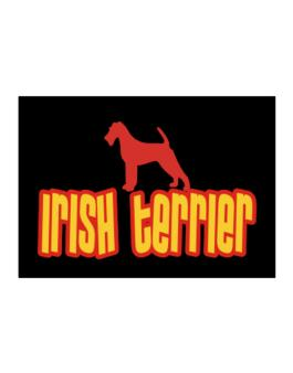 Breed Color Irish Terrier Sticker