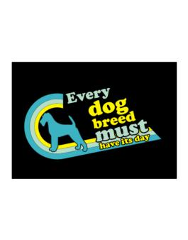 Irish Terrier : Every Dog Breed Must Have Its Day! Sticker