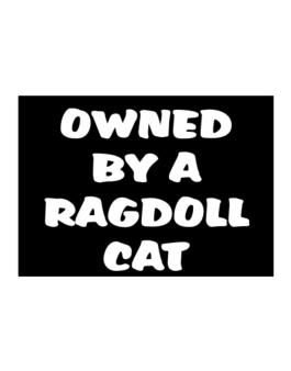 Owned By S Ragdoll Sticker