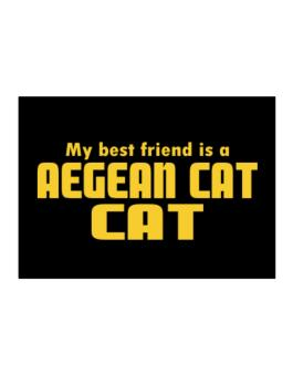 My Best Friend Is An Aegean Cat Sticker