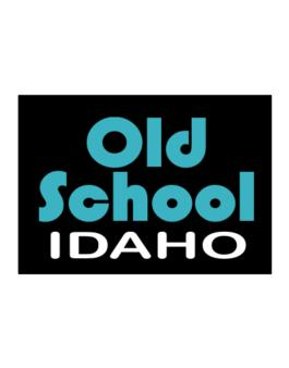 Old School Idaho Sticker