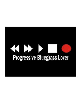 Progressive Bluegrass Lover Sticker