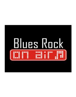 Blues Rock On Air Sticker