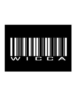 Wicca - Barcode Sticker