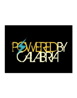 Powered By Calabria Sticker