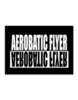 Aerobatic Flyer Negative Sticker