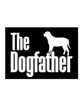 The dogfather Broholmer Sticker