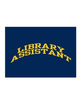 Library Assistant Sticker