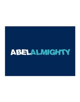 Abel Almighty Sticker