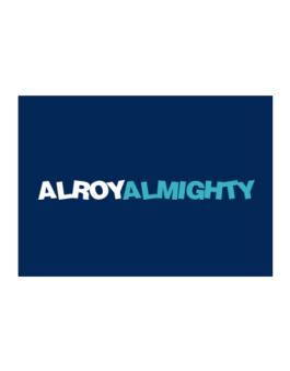 Alroy Almighty Sticker