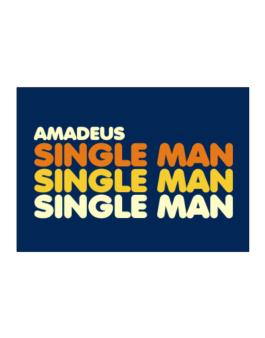 Amadeus Single Man Sticker