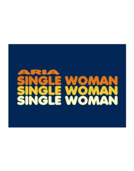 Aria Single Woman Sticker