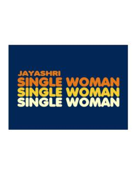 Jayashri Single Woman Sticker