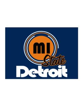 Detroit - State Sticker