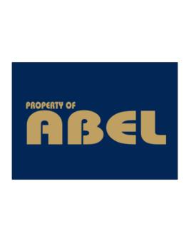 Property Of Abel Sticker