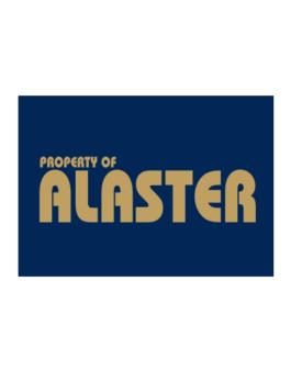Property Of Alaster Sticker