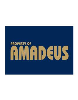 Property Of Amadeus Sticker