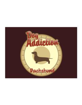 Dog Addiction : Dachshund Sticker