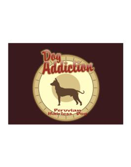 Dog Addiction : Peruvian Hairless Dog Sticker