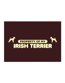 Property Of My Irish Terrier Sticker