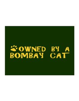 Owned By A Bombay Sticker