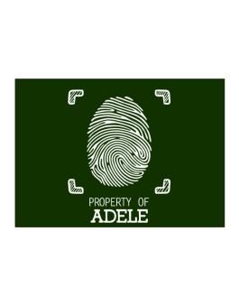 Property of Adele fingerprint 2 Sticker