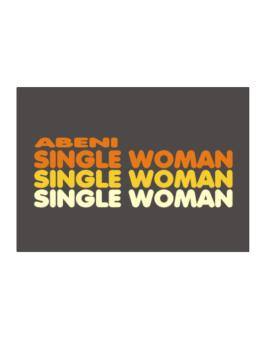 Abeni Single Woman Sticker