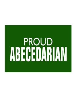 Proud Abecedarian Sticker