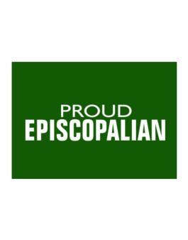 Proud Episcopalian Sticker