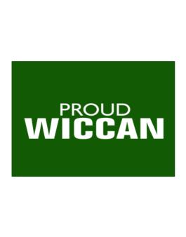 Proud Wiccan Sticker
