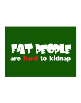 Fat People Are Hard To Kidnap Sticker