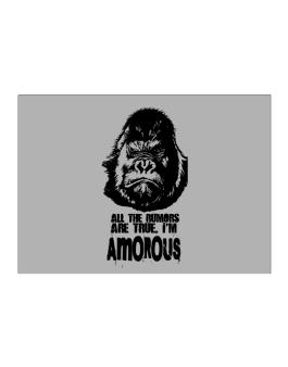 All The Rumors Are True , Im Amorous Sticker