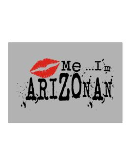 Kiss Me, Im Arizonan - Lips Sticker